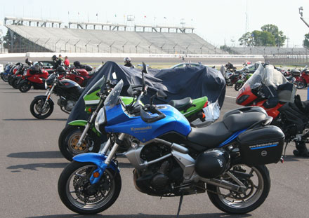 Versys at the Indianapolis Motor Speedway