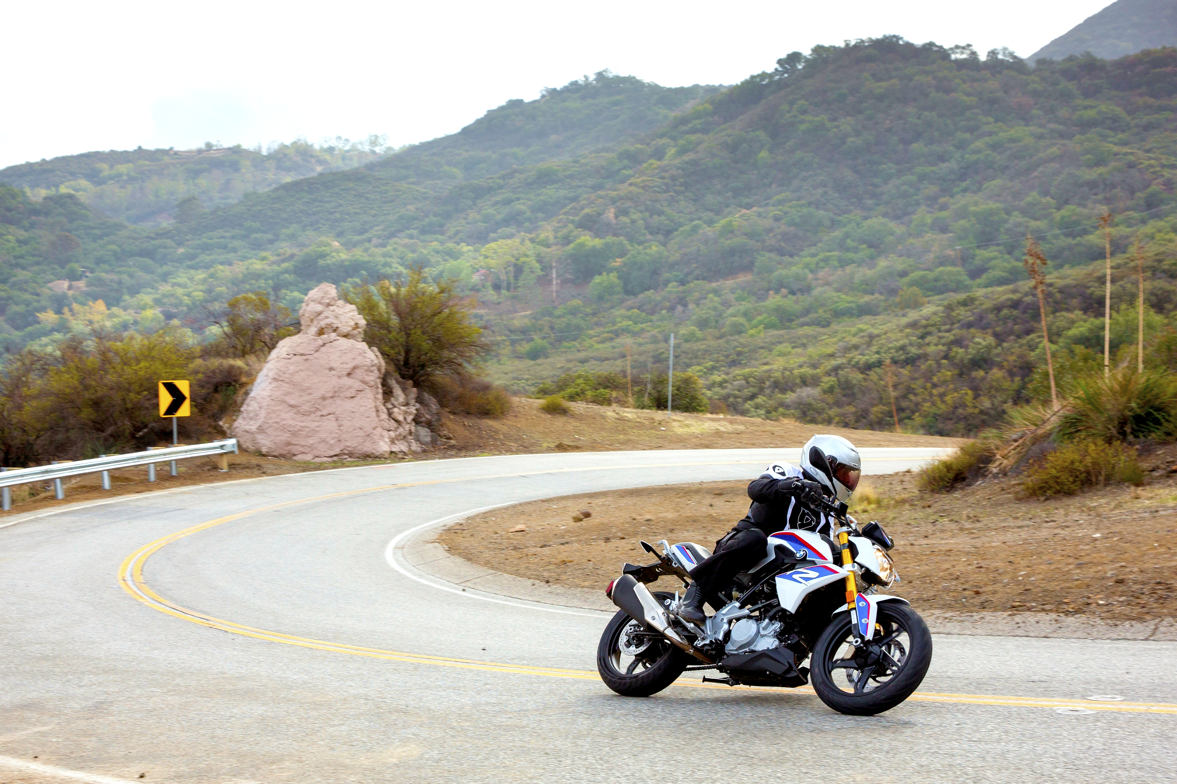 riding the BMW G 310 R