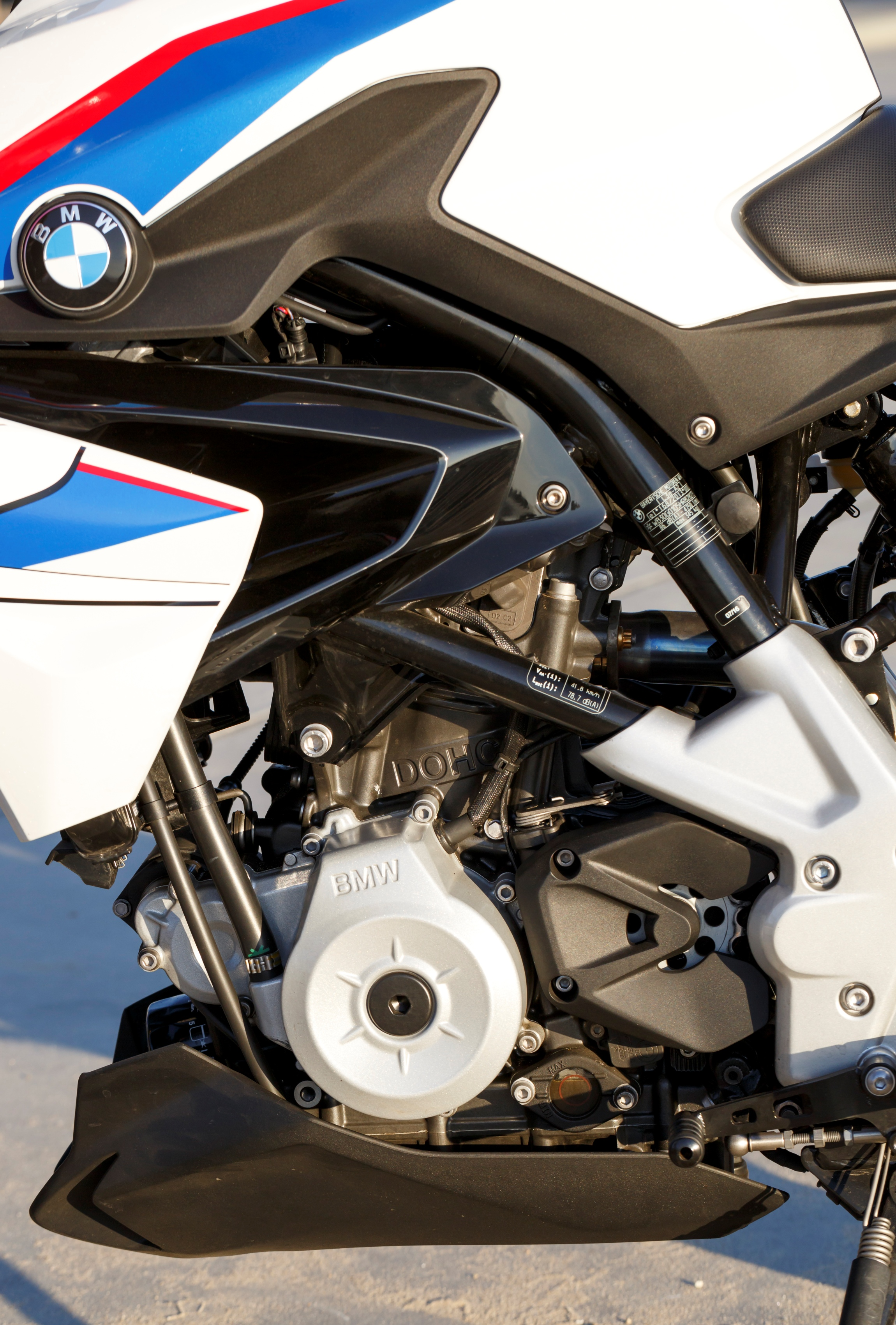 BMW G 310 R engine