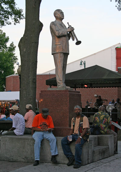 W.C. Handy statue on Beale Street