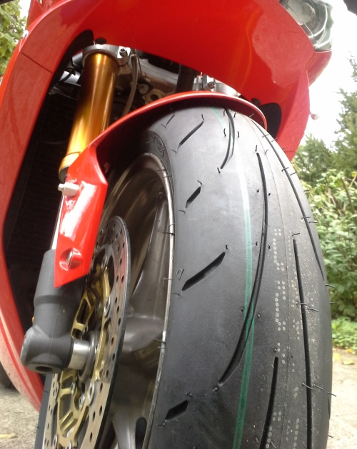 new motorcycle tire
