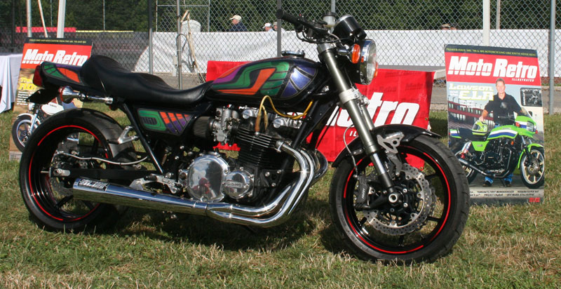 Les Holt's custom 1977 KZ1000LTD