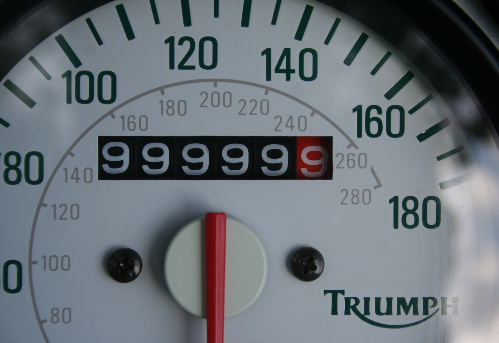 999,999.9 miles on the odometer