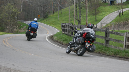 spring motorcycle ride